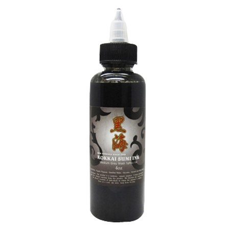 KOKKAI SUMI INK 4OZ Medium Black