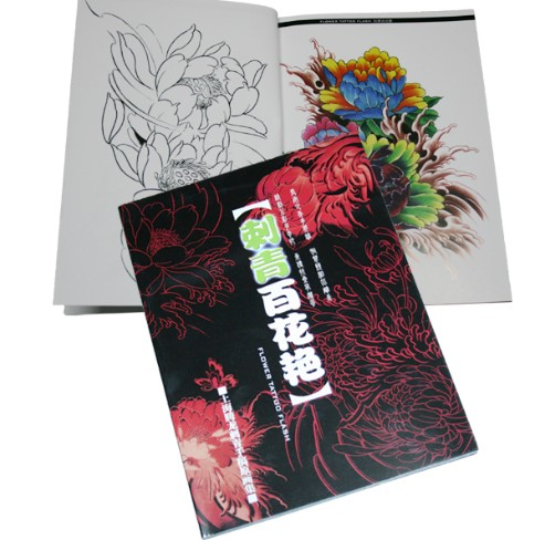 flower tattoo book