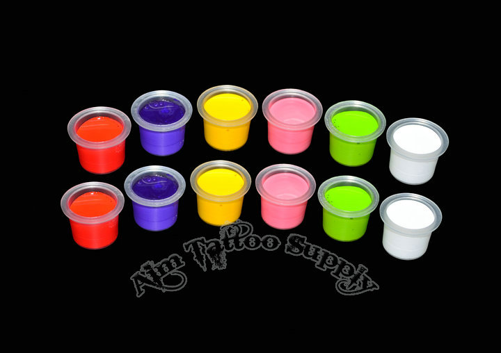 Clear Tattoo Ink Cups With New Professional Package M 500pcs/bag