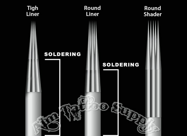 Tight liner tattoo needle tight liner tattoo needles for How to make a tattoo needle