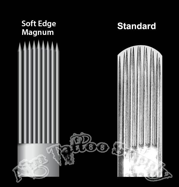 Soft Edge Magnum Tattoo Needles