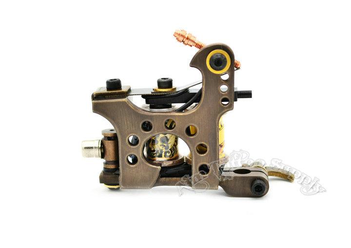 original padiy irons cnc brass coil tattoo machine shader pd021 aim tattoo equipment factory. Black Bedroom Furniture Sets. Home Design Ideas