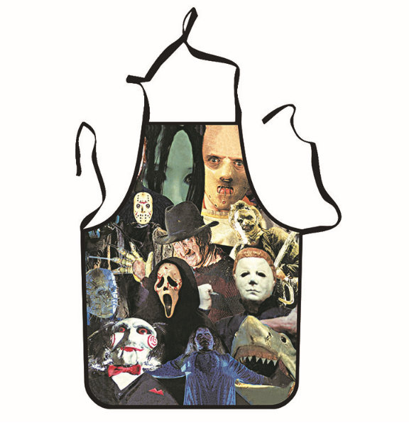 Horror Characters Unique Tattoo Apron