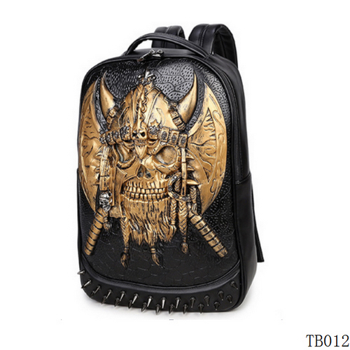 Unique Punk Tattoo Bag Gold