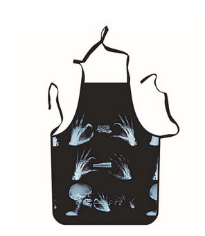 Hand bones Unique Tattoo Apron