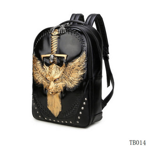 Fashion Tattoo Traveling Bag Gold