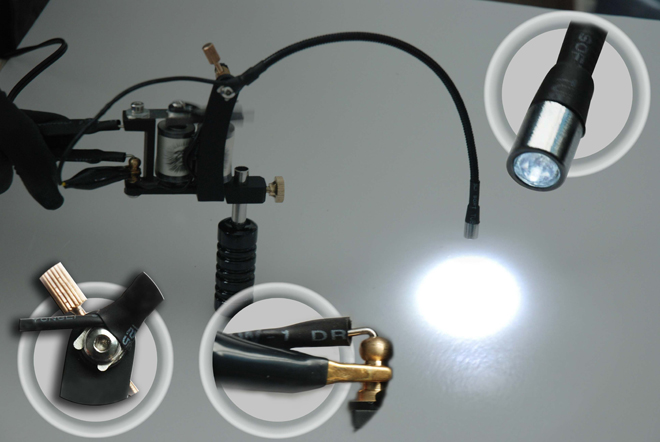 Tattoo Machine Light