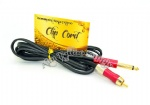 Snake king Tattoo RCA clip cord