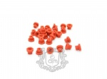 New Soft Tattoo Nipples Gromment Silica Gel  100pcs