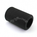 Black Soft Silicone Tattoo Grip Cover