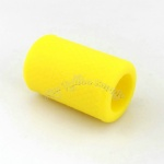 Yellow Soft Silicone Tattoo Grip Cover