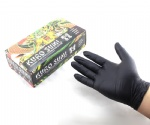Black Import Latex KURO SUMI Tattoo Gloves