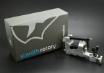Silver Stealth III Series Rotary Tattoo Machine