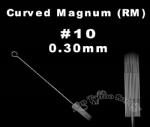 #10 Curved Magnum tattoo needles RM