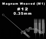 #12 Magnum tattoo needles