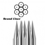 #12 Round Liners tattoo needles