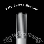 Soft Curved Magnum Tattoo Needles