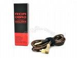 AVA Professional Pure copper RCA Clip Cord Black