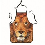 Lion Unique Tattoo Apron