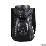 Unique Skull Tattoo Bag Black