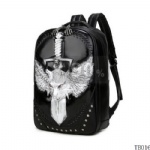 Fashion Tattoo Traveling Bag Silver