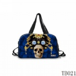 Tattoo Collection Tote Bag Blue