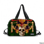 Tattoo Collection Tote Bag Green