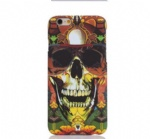 Glass Skull Tattoo Mobile Phone Shell