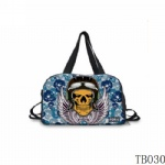 Tattoo-style Handbag For Artist Blue