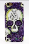Purple Flower Tattoo Mobile Phone Shell