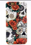 Orange Flower Tattoo Mobile Phone Shell