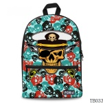Skull Tattoo Artist Backpack Blue