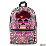 Gift for Artist Skull Tattoo Bag
