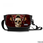 Vintage Skull Messenger Bag For Tattoo Artist