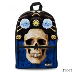 Skull Tattoo Bag For Artist Dark Blue