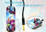 Premium Tattoo Heart Continuous Working Tattoo Foot Switch(Pedal)
