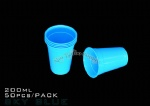 Sky blue Tattoo Disposable Rinse Cup