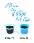 New Clear Blue Tattoo Ink Cup L size